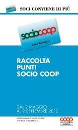 raccolta punti socio coop - E-coop