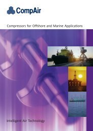 the CompAir brochure for Offshore and Marine ... - J & J Pneumatics