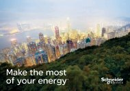 Make the most of your energy SM - Schneider Electric