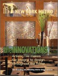 ASID NY Metro Magazine - Design Concepts/Interiors
