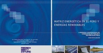 Matriz energética en el Perú I - Grupo Propuesta Ciudadana
