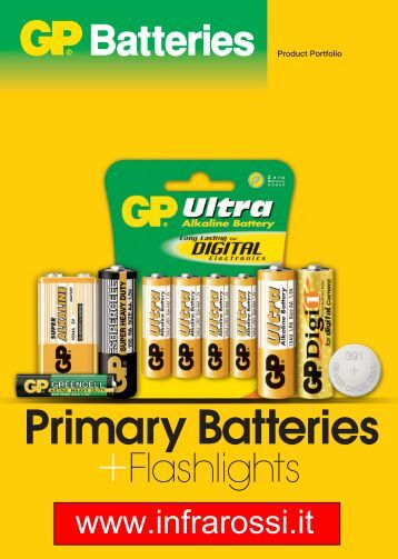 Primary Batteries - Infrarossi