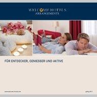 FestlicHe zeiten - Welcome Hotels