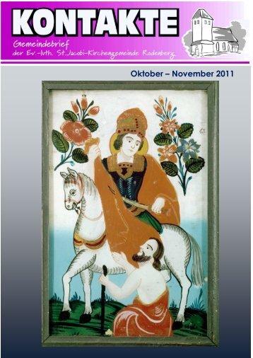 Oktober – November 2011 - St. Jacobi