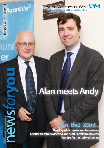 Alan meets Andy - Greater Manchester West Mental Health NHS ...