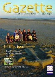 January 2006 - The Boys' Brigade