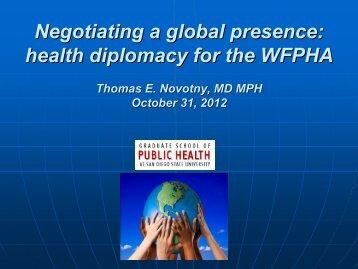 T. Novotny - World Federation of Public Health Associations