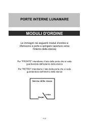 MODULI D'ORDINE - DI.BI. Porte Blindate