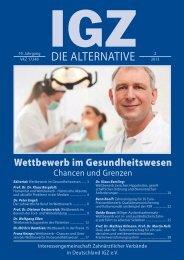 Ausgabe 2-2013 - IGZ