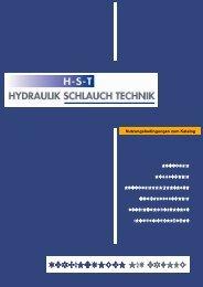 verbindungen mit erfolg mit erfolg - HST Hydraulik Schlauch Technik