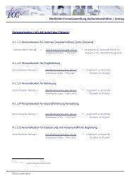 Merkblatt Formelsammlung Kalkulationshilfen ... - ECG GmbH Berlin