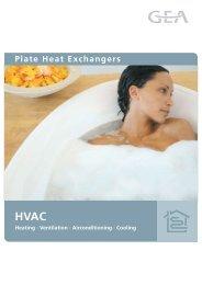 Plate Heat Exchangers - GEA Happel Belgium