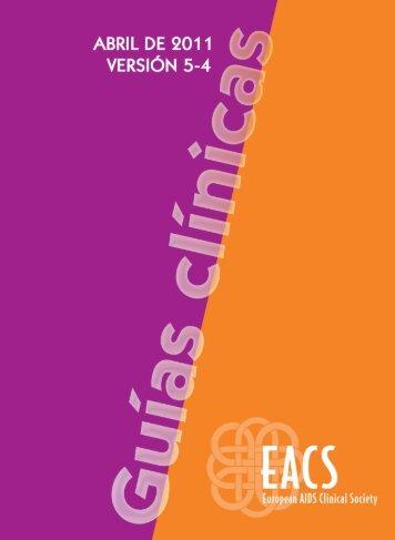 EACS Sociedad Clínica Europea del SIDA Guías clínicas - Versión 5 ...