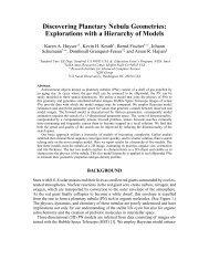 Discovering Planetary Nebula Geometries: Explorations with ... - NASA