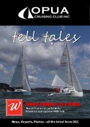 Tell Tales May 2013 - Opua Cruising Club