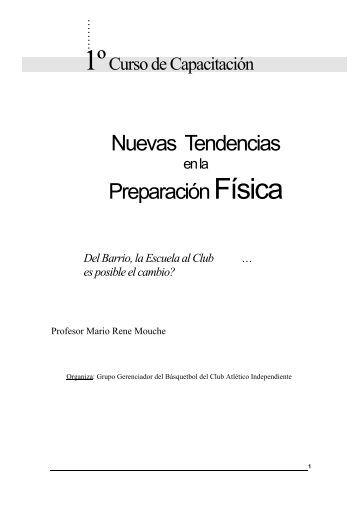nuevas tendencias en la preparacion fisica - Recursos para ...