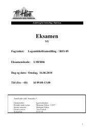 LMFR06 - Legemiddelframstilling - 16062010