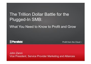 The Trillion Dollar Battle for the Plugged-In SMB: - WorldHostingDays