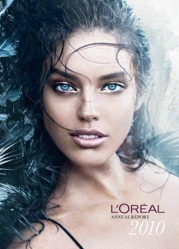 2010 Annual Report - L'Oréal Finance