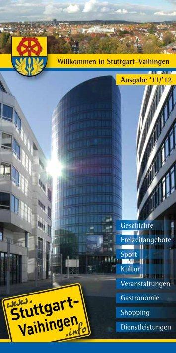 Ausgabe '11/'12 - Stuttgart Vaihingen