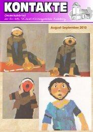 August-September 2010 - St. Jacobi