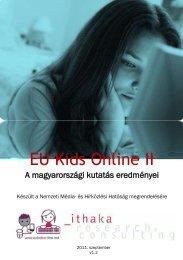 EU Kids Online II - A magyarországi kutatás ... - Nemzeti Média