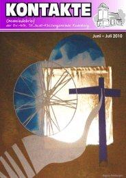 ni – Juli 2010 Juni – Juli 2010 - St. Jacobi