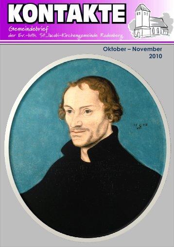 Oktober – November 2010 - St. Jacobi