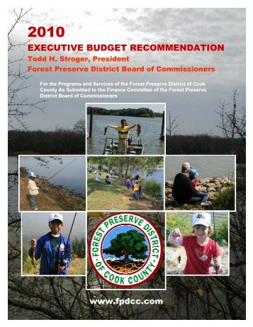 executive budget recommendation - Forest Preserve District of Cook ...