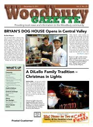 to view the December 8th issue as a pdf. - Woodbury Gazette
