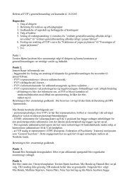 Referat FYP Generalforsamling 18. oktober 2005