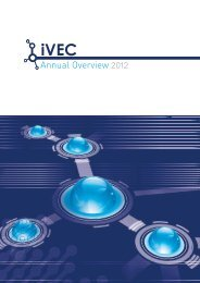 Annual Overview 2012 - iVEC