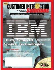 Customer Interaction Solutions April 2005 - TMC's Digital Magazine ...