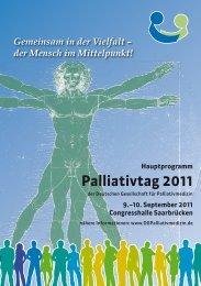 Palliativtag 2011 - St. Jakobus Hospiz gGmbH