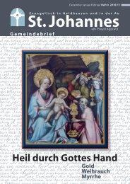 Inhalt St. Johannes