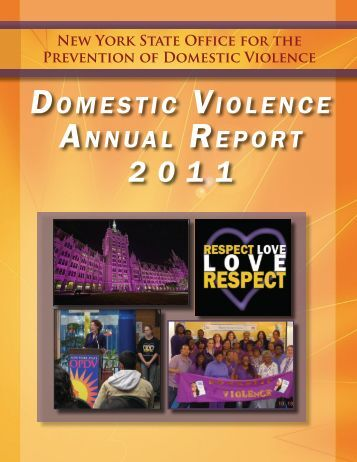 2011 NYS Domestic Violence Annual Report - New York State Office ...