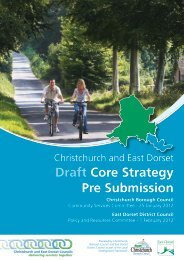 Core Strategy Pre Submission Document - Part 1 - Dorsetforyou.com