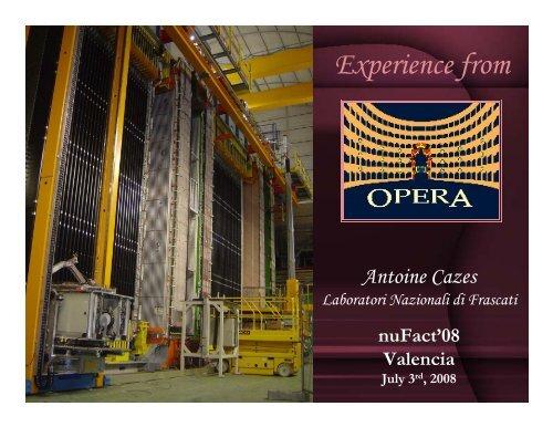 Antoine Cazes - opera