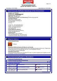 Sicherheitsdatenblatt - Wendisch-PS