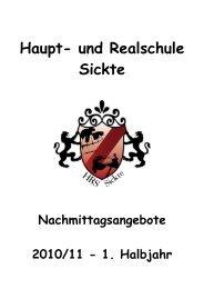 Heft 1 HJ 10_11 - und Realschule Sickte