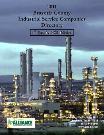 2011 Brazoria County Industrial Service Companies Directory