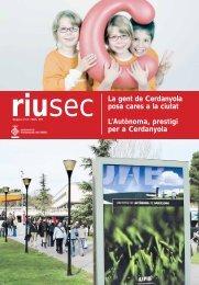 Riu Sec maig i juny 2010 - Ajuntament de Cerdanyola del Vallès