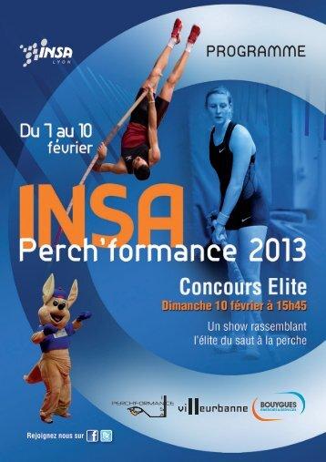 le programme complet - INSA de Lyon