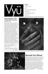 Beneath the Wheel - Vyu Magazine