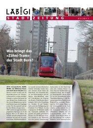 Zeitung 1/2011 - Läbigi Stadt