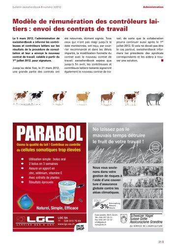 PARABOL - Swissherdbook