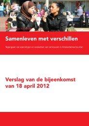 Samenleven met verschillen - Onderzoek en Statistiek Amsterdam ...