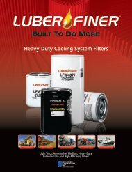 Heavy-Duty Cooling System Filters - Luber-finer
