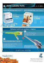 Akční nabídka KaVo 1. 10. - 5. 11. 2012 - KAVO.cz
