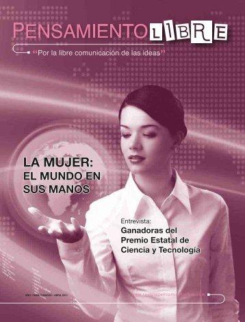 LA MUJER: LA MUJER: - Revista Pensamiento Libre
